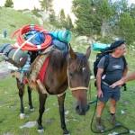 Ravitaillement à cheval