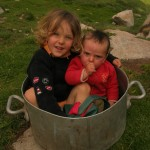 Noé et Yaël, les mini-gardiens !