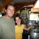 Cédric et Stéphanie, les gardiens du refuge de Bastan