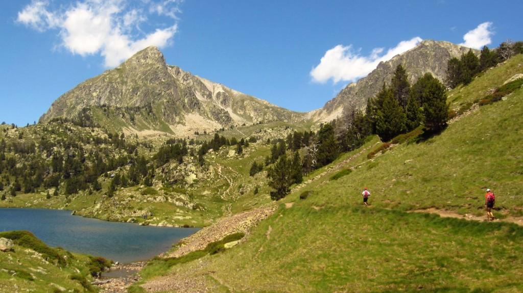 Pic de Bastan et lac du milieu